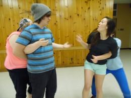 Rehearsing Big Bad Wolf