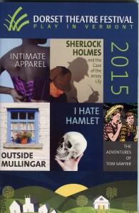Dorset Theatre Festival Poster