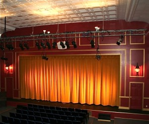 Main Stage at Fort Salem Theater