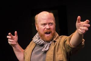 Michael Toomey as the Poet in An Illiad