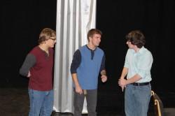Caleb Bishop, Jordan Peters,Thomas Tifft,