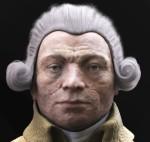 Death mask of Robsepierre
